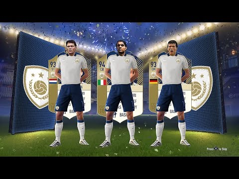 INSANE NEW FIFA 18 ICONS! ft 93 Matthaus & 94 Maldini! - #FUT18 Icons