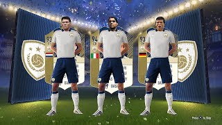 Insane new fifa 18 icons! ft 93 matthaus & 94 maldini! - #fut18 icons