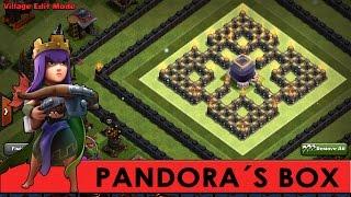 Clash of Clans   Worlds BEST DE Farming Troll Base!?   Pandora´s Box   Max LVL Troop Proof [2016]