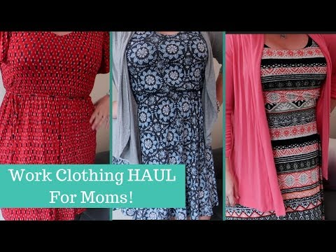 loft-clothing-haul---dresses-for-work-|-beingmommywithstyle