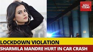 Kannada Actor Shamrila Mandre Hurt After Car Accident In Bengaluru