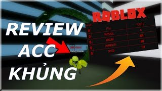 Roblox | Ro-Ghoul: Review acc siêu khủng level 640!