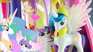 MLP: Princess Celestia Babysits Flurry Heart