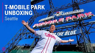 T-Mobile Park Unboxing in Seattle with Des | T-Mobile