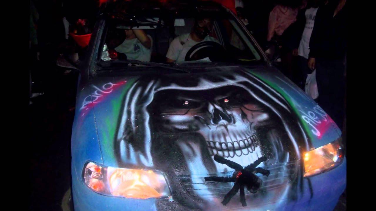 Desfile De Monster Cars En Azcapotzalco Youtube