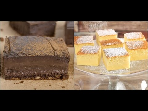 Magic cake - lemon or chocolate
