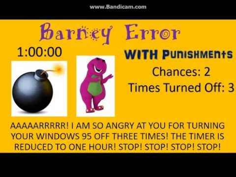 Barney Error 4 (Punishment Edition)