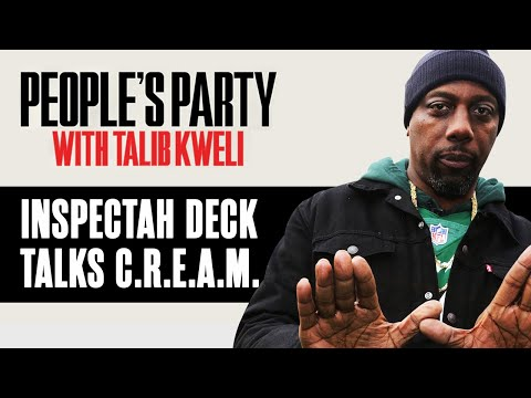 Inspectah Deck Explains How C.R.E.A.M. Is A Conscious Rap Song In Disguise | People's Party Clip
