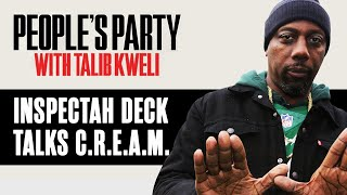 Inspectah Deck Explains How C.R.E.A.M. Is A Conscious Rap Song In Disguise   People's Party Clip