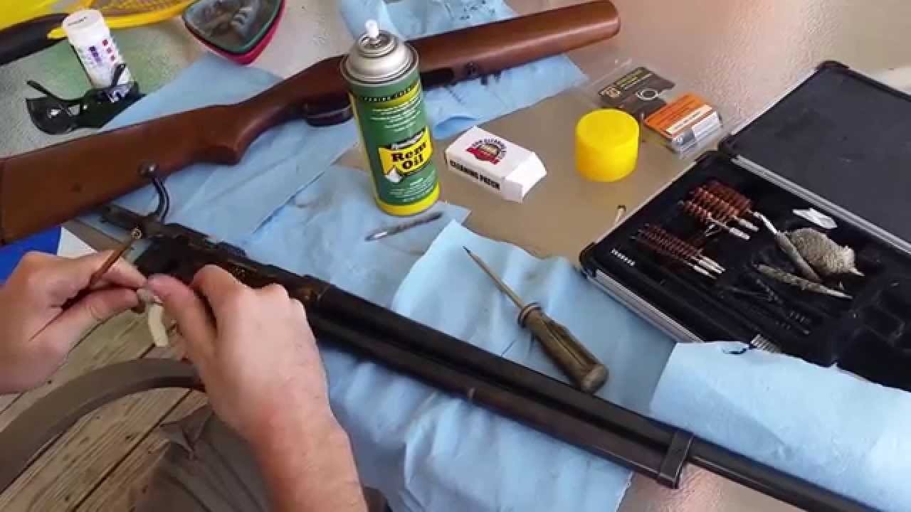 How To/DIY: J C  Higgins Model 583 20 Bolt Action Shotgun  Dissassembly/Cleaning