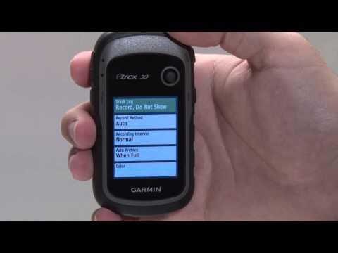 Garmin ETrex®  Tracks Basics: ETrex® 10, ETrex® 20, ETrex® 30