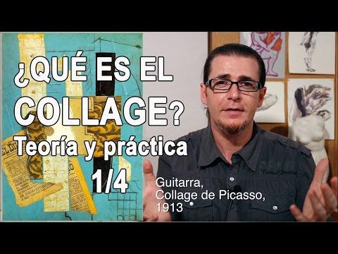 ¿Qué es el Collage? Teoría y práctica. 1/4. -Arte y Creatividad-