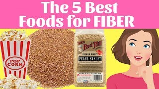 The 5 Best Foods for FIBER | The Smoothie Diet: 21 Day Rapid Weight Loss Program