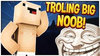 TROLLING BIGGEST NOOB w/RGAminecraft | Minecraft Trolling #58 (Minecraft Pranks)