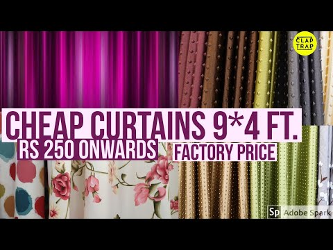 CURTAINS AT FACTORY PRICE | Call 9899003390 ALL INDIA DELVIERY | HOW TO CHOOSE CURTAINS