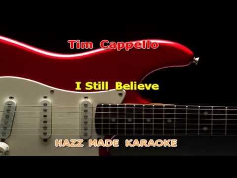 Tim Cappello   I still believe (Karaoke Version)