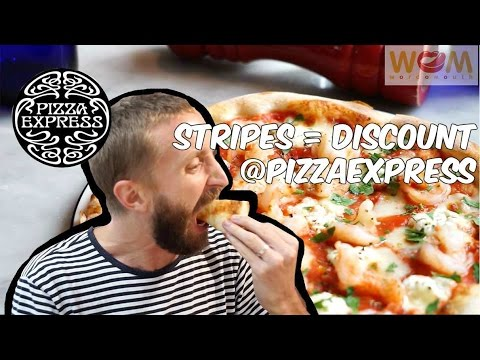 Stripe up with Pizza Express