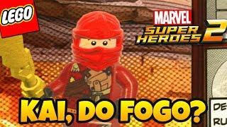 LEGO Marvel Super Heroes 2 - CRIANDO O KAI DE NINJAGO (CRIADOR DE PERSONAGENS)