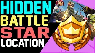 Fortnite HIDDEN BATTLE STAR LOCATION WEEK 8 Secret Banner Road Trip Challenges Season 5
