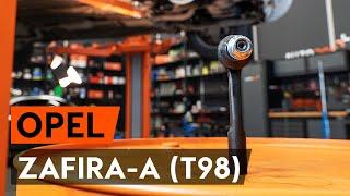 Reemplazar Rótula barra de dirección OPEL ZAFIRA: manual de taller