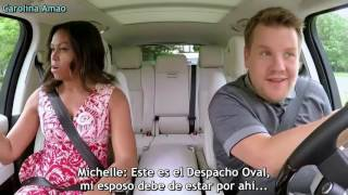 Gambar cover First Lady Michelle Obama Carpool Karaoke「Sub Español」P. 1   By Carolina Amao
