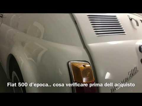 Fiat 500F epoca info acquisto