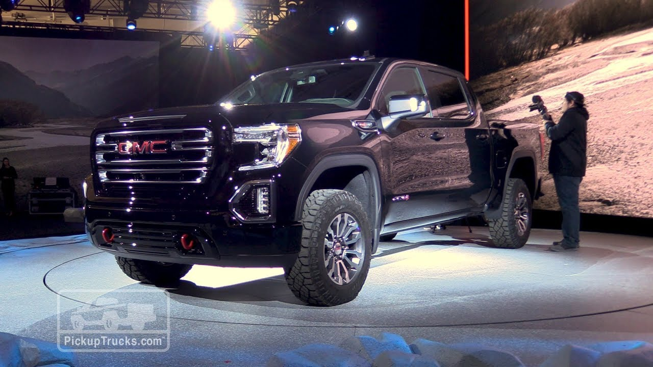 2019 GMC Sierra 1500 AT4: First Look - YouTube