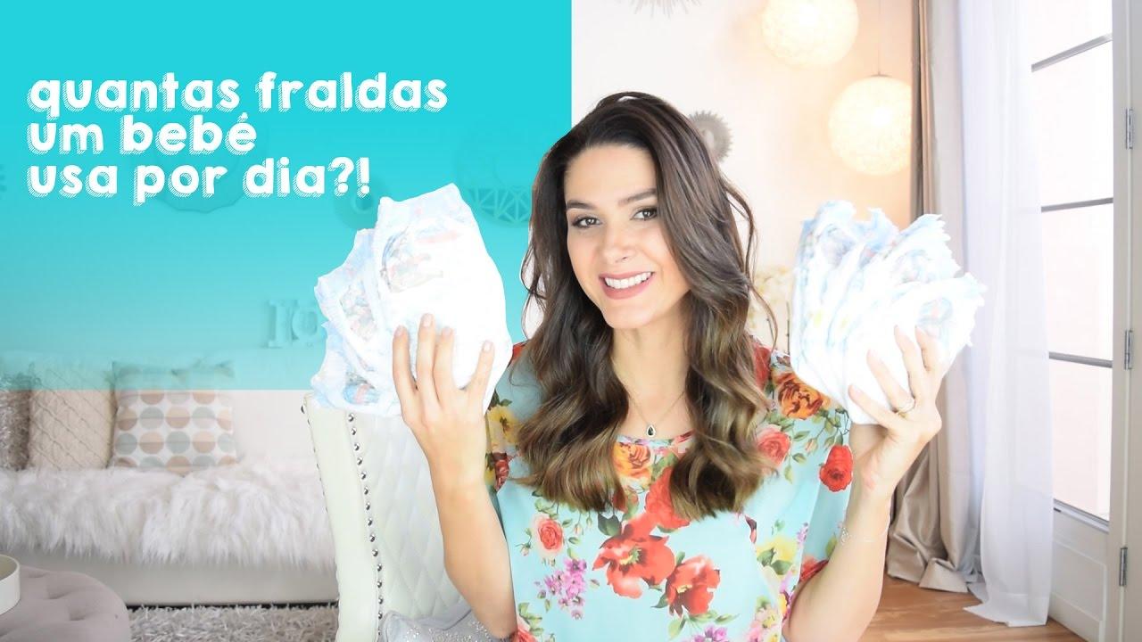 Quantas Fraldas Um Bebê Usa Por Dia Fernanda Machado Youtube