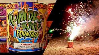 Phantom Fireworks Komodo 3000 Fountain