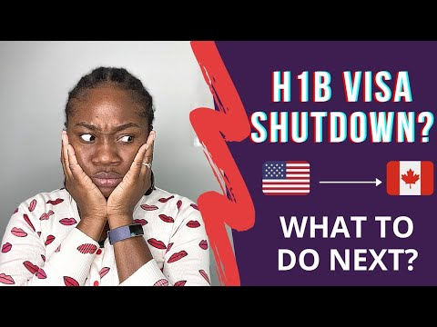 No More US Work (H1B) Visa? What Next? | How To Move From US To CANADA 🇨🇦
