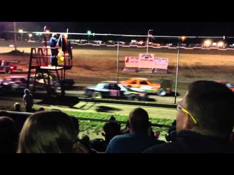 Silver bullet speedway car races