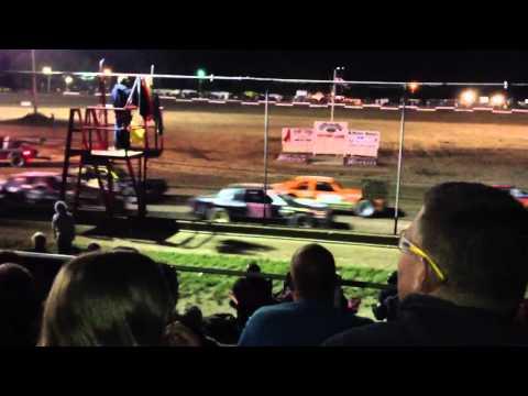 Silver bullet speedway car races