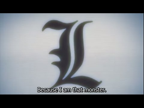 L's Monster Speech - Death Note (Sub)