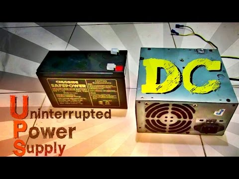 Ups dc 12v 35v battery backup youtube sciox Image collections