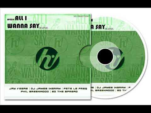 Mvzzik  All I Wanna Say Dj James Ingram Remix