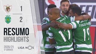 Highlights   Resumo: Santa Clara 1-2 Sporting (Liga 20/21 #5)