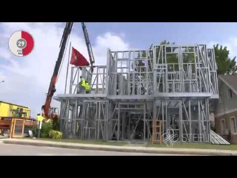 Time Lapsed Construction Of 2 Storey House Youtube