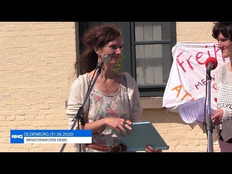 LIVE | Menschenwürde-Demo | 31.05.2020 | OLDENBURG