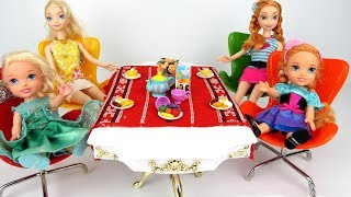 Video Morning Routine ! Elsa and Anna toddlers - One is Sleepy - Breakfast - Kitchen download MP3, 3GP, MP4, WEBM, AVI, FLV November 2017