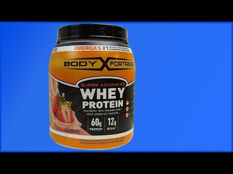 Body Fortress Strawberry Flavored Whey
