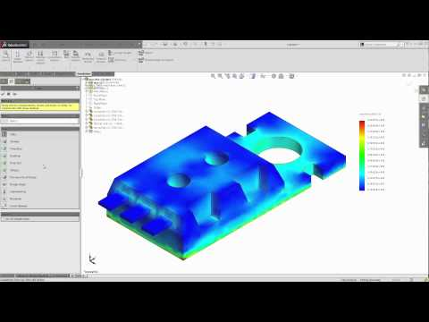 SOLIDWORKS Simulation  — How to Export Transient Thermal Results into a Static Study