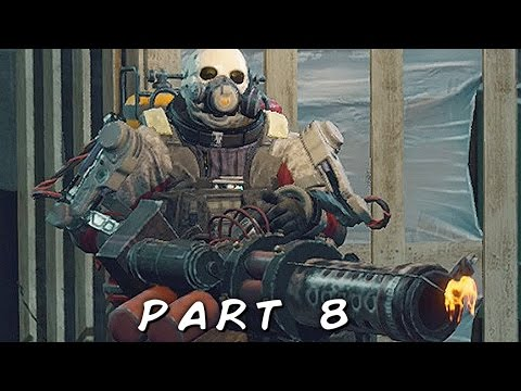 DEAD RISING 4 Walkthrough Gameplay Part 8 - Flametrooper Maniac (XBOX ONE S)