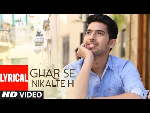 Ghar Se Nikalte Hi Lyrical Video Song | Amaal Mallik Feat. Armaan Malik | Bhushan Kumar | Angel