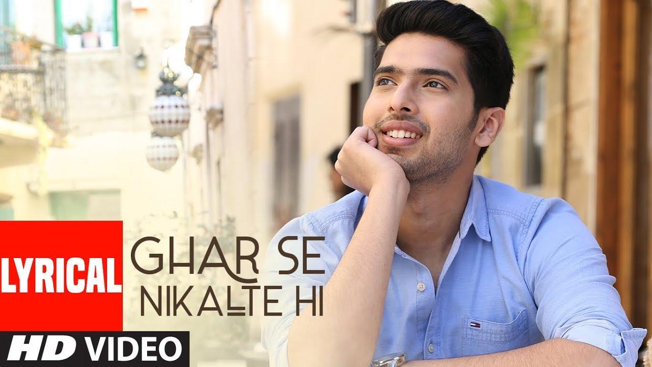 Ghar Se Nikalte Hi Video Song With Lyrics | Amaal Mallik Feat. Armaan Malik | Bhushan Kumar | Angel