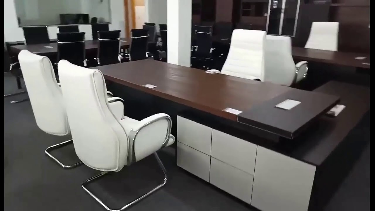 M&N Office Furniture Showroom video with music