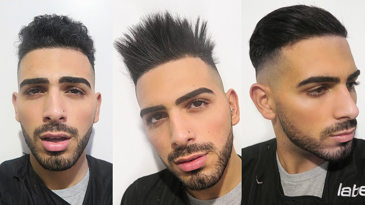 Curly To Straight Hair Keratin  Mens Hair 20162017  YouTube