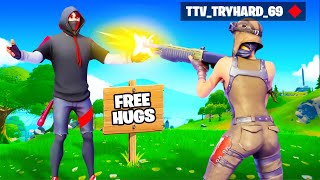 Trying to make Friends in Fortnite 2021…