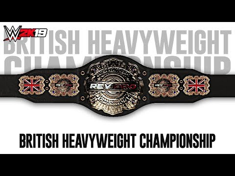 WWE 2K19 - How To Make The REV Pro British Heavyweight Championship [2019]