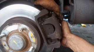 تبديل الفرامل الخلفية للسيارة   REAR BRAKE PADS