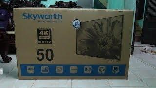 Tivi 4K UHD 50 inch rẻ nhất thế giới  (chưa đến 9 triệu)